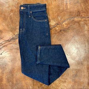 NWOT Madewell Curvy High-Rise Skinny Jeans